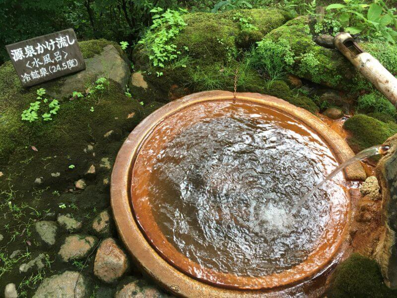 滝沢温泉(滝沢館)の源泉