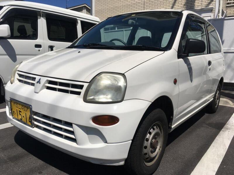 三菱自動車「MINICA」
