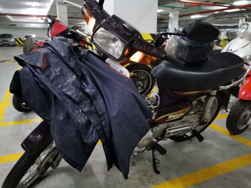 ブンタウでのレンタルバイク