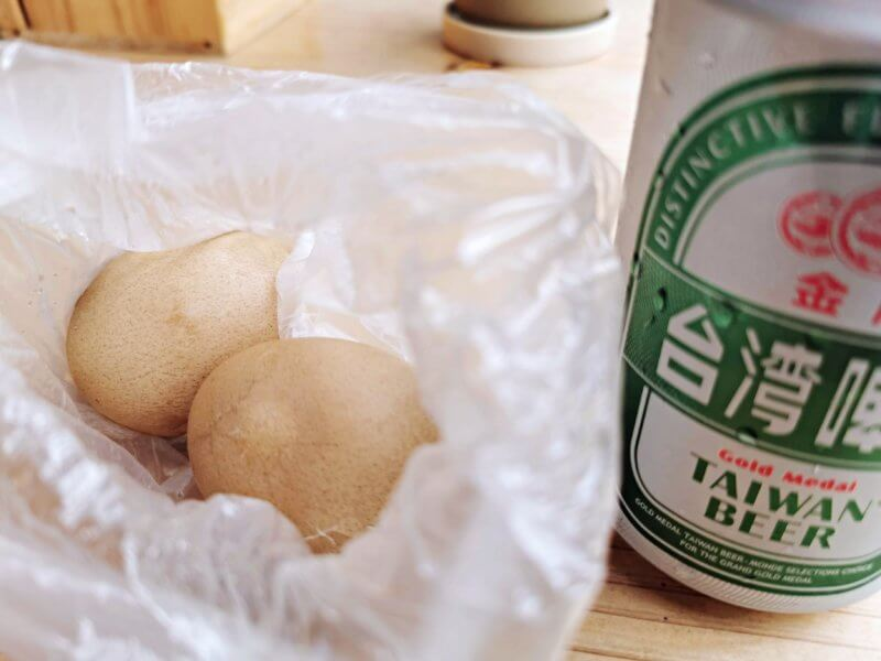台北のセブンイレブンのゆで卵