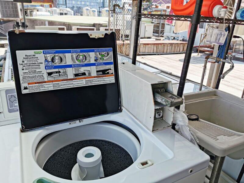 スターホステル台北駅の洗濯機