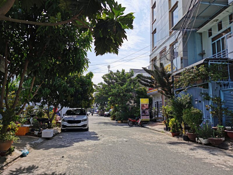 Street near Duy's home Can Tho