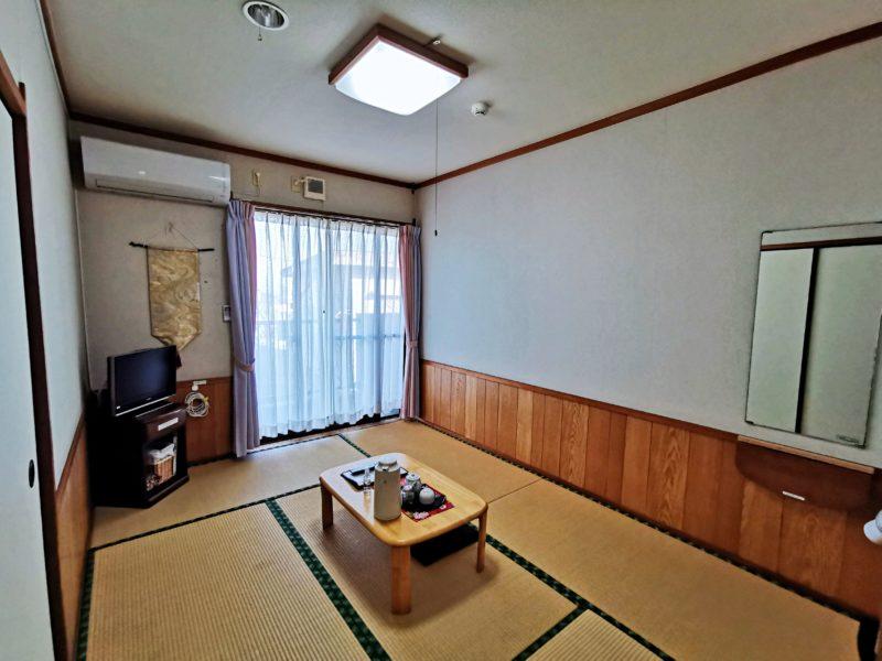 「民宿たかよし」の部屋(知林ヶ島)
