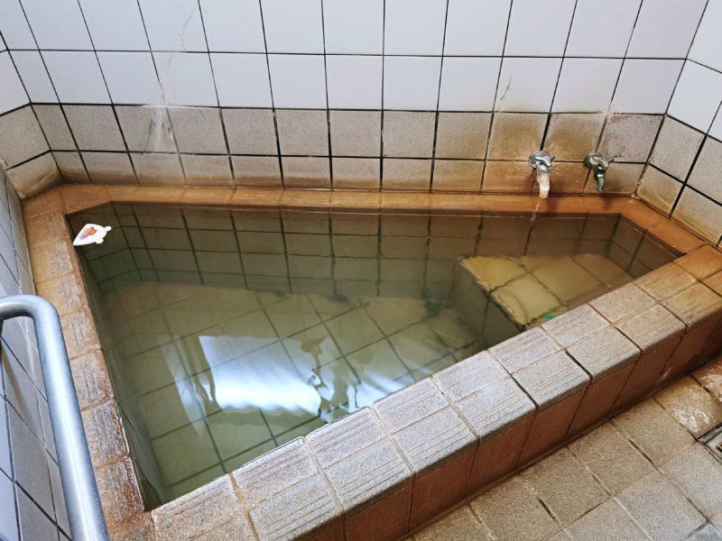 「民宿たかよし」の温泉
