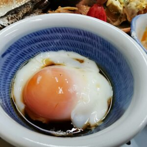 「民宿たかよし」の朝食(2日目)