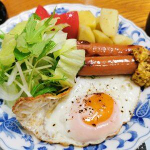 「民宿たかよし」の朝食(3日目)