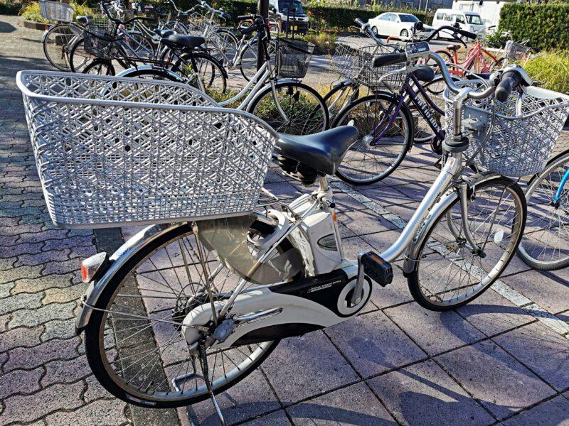 「民宿たかよし」の電動アシスト自転車