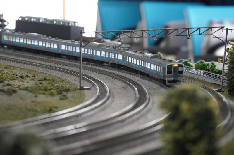 「鉄道ゲストハウス 鐡ノ家」の鉄道模型